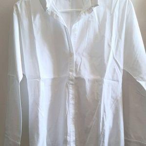 Lafayette 148 New York Classic White Shirt